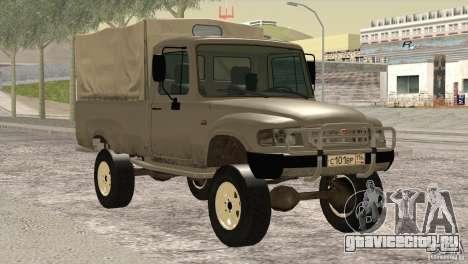 ГАЗ 2308 Атаман для GTA San Andreas вид сзади