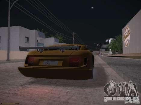 TVR Cerbera Speed 12 для GTA San Andreas вид слева