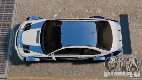 BMW M3 GTR MW 2012 для GTA 4 вид справа