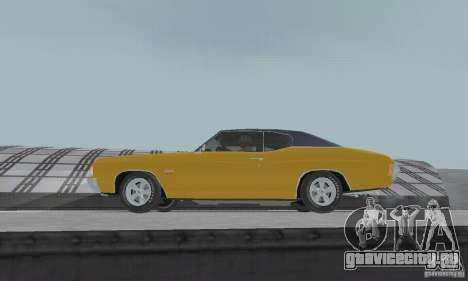 Chevrolet Chevelle SS 1972 для GTA San Andreas вид справа