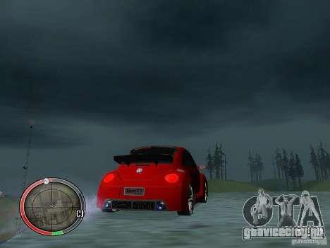Volkswagen Beetle Tuning для GTA San Andreas вид справа