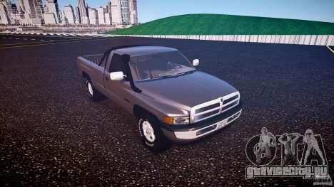 Dodge Ram 2500 1994 для GTA 4 вид слева