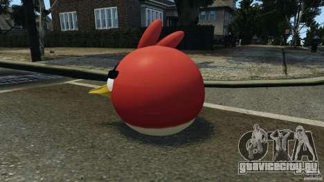 Angry Bird Ped для GTA 4 второй скриншот