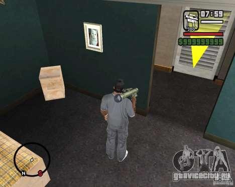 Fim-43 Redeye для GTA San Andreas третий скриншот