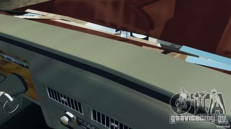 Cadillac Fleetwood Brougham Delegance 1986 для GTA 4 салон