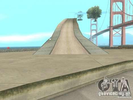 New Drift Track SF для GTA San Andreas четвёртый скриншот