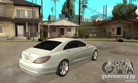 Mercedes-Benz CLS 350 2011 для GTA San Andreas вид справа