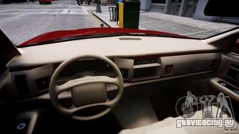 Buick Roadmaster Sedan 1996 v 2.0 для GTA 4 вид сзади