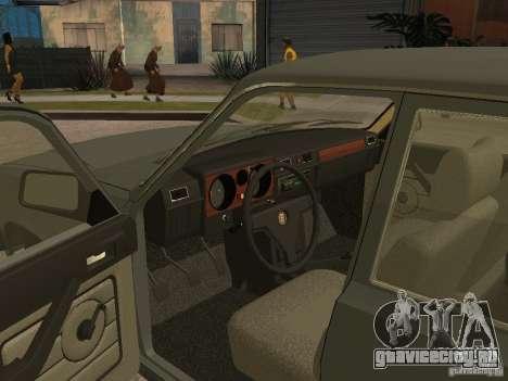 ГАЗ 31029 Волга для GTA San Andreas вид сзади слева