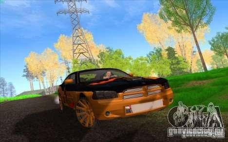 Dodge Charger SRT 8 для GTA San Andreas вид снизу