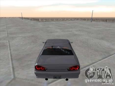 Elegy Full VT v1.2 для GTA San Andreas вид сзади слева