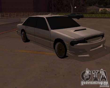 Taxi для GTA San Andreas вид сзади
