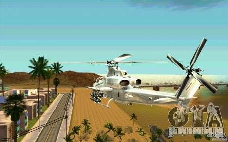AH-1Z Viper для GTA San Andreas вид сзади слева