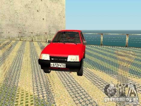 ВАЗ 2109 v2 для GTA San Andreas вид слева