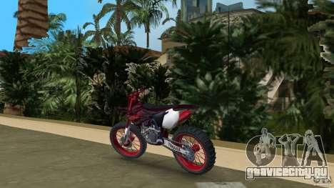 Yamaha v.2 для GTA Vice City вид сзади слева