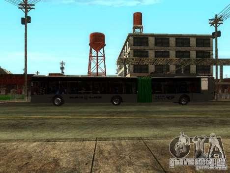 Троллейбус ЛАЗ E301 для GTA San Andreas вид изнутри