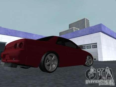 Nissan Skyline R32 Classic Drift для GTA San Andreas вид справа