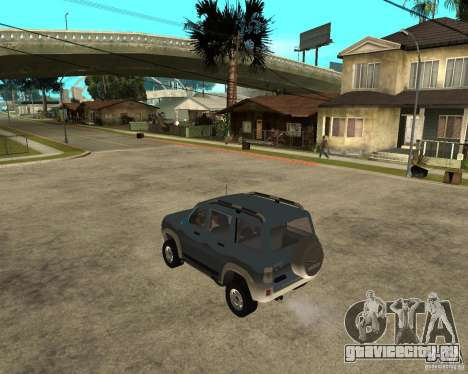 УАЗ Patriot 4х4 для GTA San Andreas вид слева