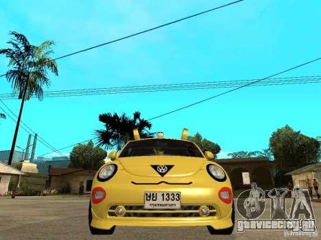 Volkswagen Beetle Pokemon для GTA San Andreas вид справа