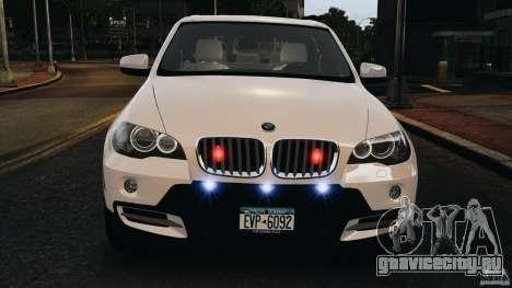 BMW X5 xDrive48i Security Plus для GTA 4 салон
