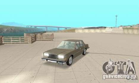 Dodge Diplomat 1985 v2.0 для GTA San Andreas
