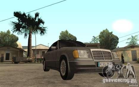 Mercedes-Benz E320 C124 для GTA San Andreas вид сзади