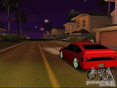 New Blistac для GTA San Andreas вид сзади слева