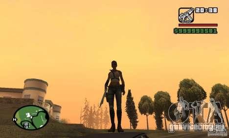Новая военная девушка для GTA San Andreas третий скриншот