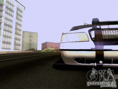 Ford Crown Victoria Canadian Mounted Police для GTA San Andreas вид изнутри