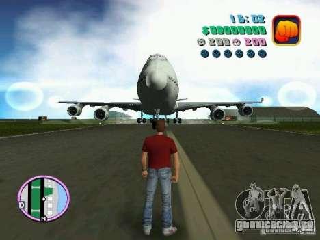 Boeing 747 для GTA Vice City вид слева