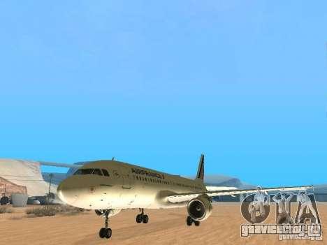 Airbus A320 Air France для GTA San Andreas