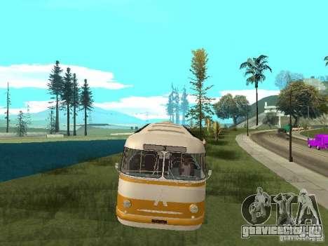 ЛАЗ 695Е для GTA San Andreas вид сзади слева