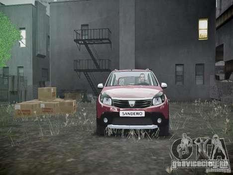 Dacia Sandero Stepway для GTA 4 вид сверху