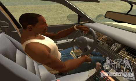 Ford Crown Victoria Neberska Police для GTA San Andreas вид сзади слева