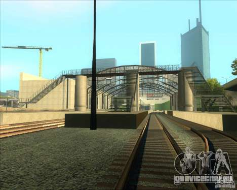 Высокие платформы на ж/д станциях для GTA San Andreas третий скриншот