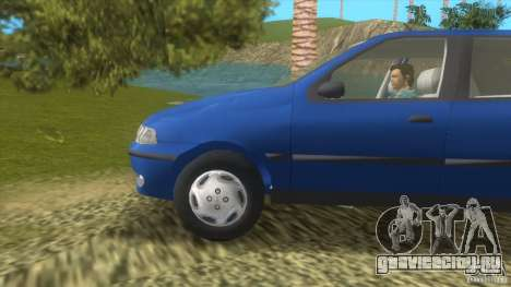 Fiat Palio для GTA Vice City вид слева