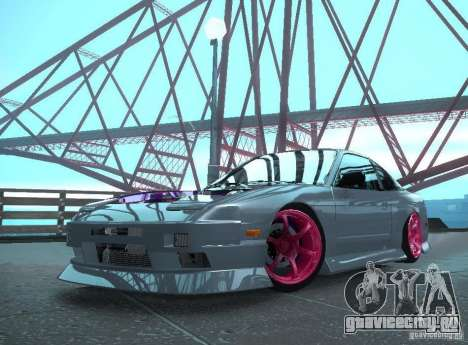 Nissan 240SX Team Top Flight для GTA San Andreas