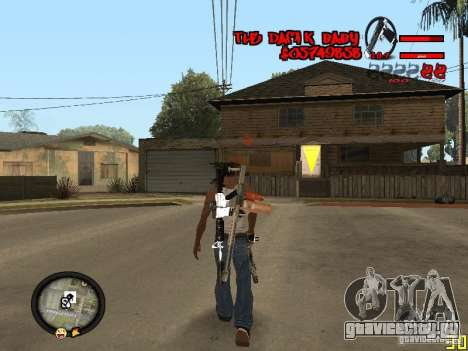 Hud by Dam1k для GTA San Andreas