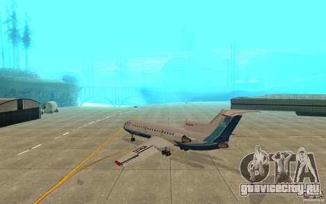Як-42Д Скат (Казахстан) для GTA San Andreas вид справа