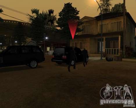 Охрана на джипе для GTA San Andreas третий скриншот