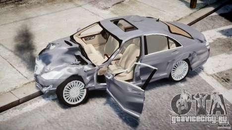 Mercedes-Benz S-Class 2007 для GTA 4 колёса