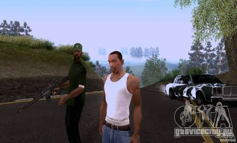 Call for Homies V2.0 для GTA San Andreas