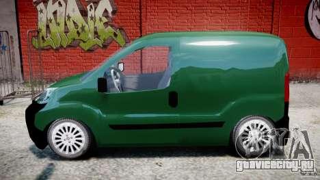 Fiat Fiorino 2008 Van для GTA 4 вид слева