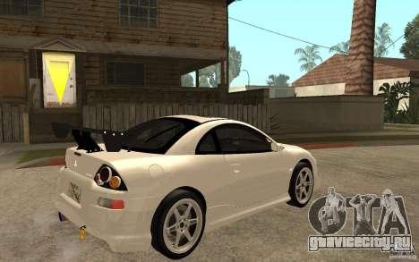 Mitsubishi Eclipse 2003 V1.5 для GTA San Andreas вид справа