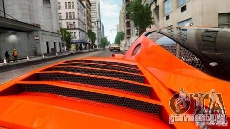 Ferrari FXX Evoluzione для GTA 4 вид сзади