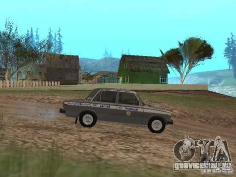 ВАЗ 21063 Учебная для GTA San Andreas вид слева