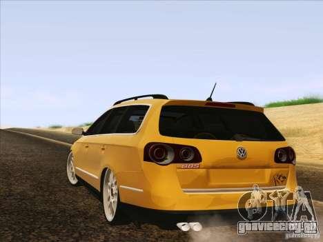 Volkswagen Passat B6 Variant для GTA San Andreas салон