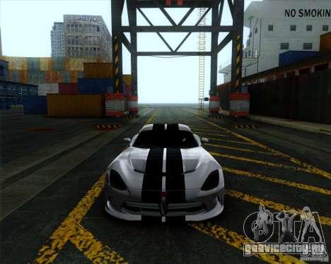 Dodge Viper SRT 2013 для GTA San Andreas вид слева