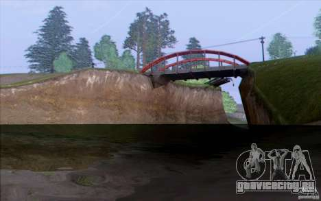 Сельская местность HQ для GTA San Andreas второй скриншот