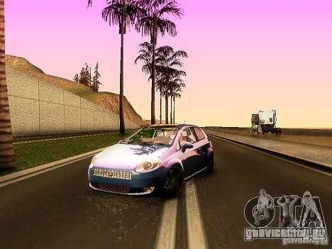 Fiat Punto Multijet для GTA San Andreas